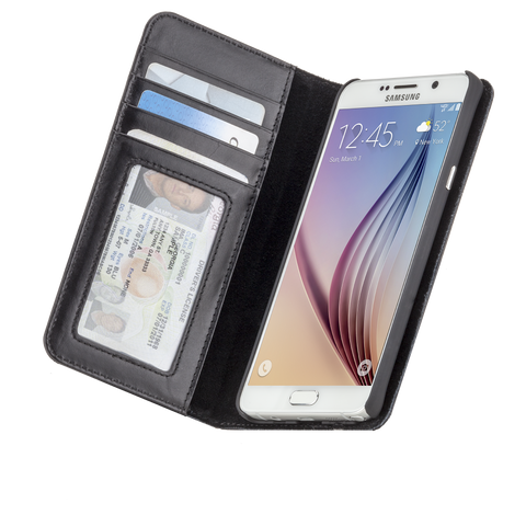 Samsung Galaxy Note 5 Wallet Folio Case - Black