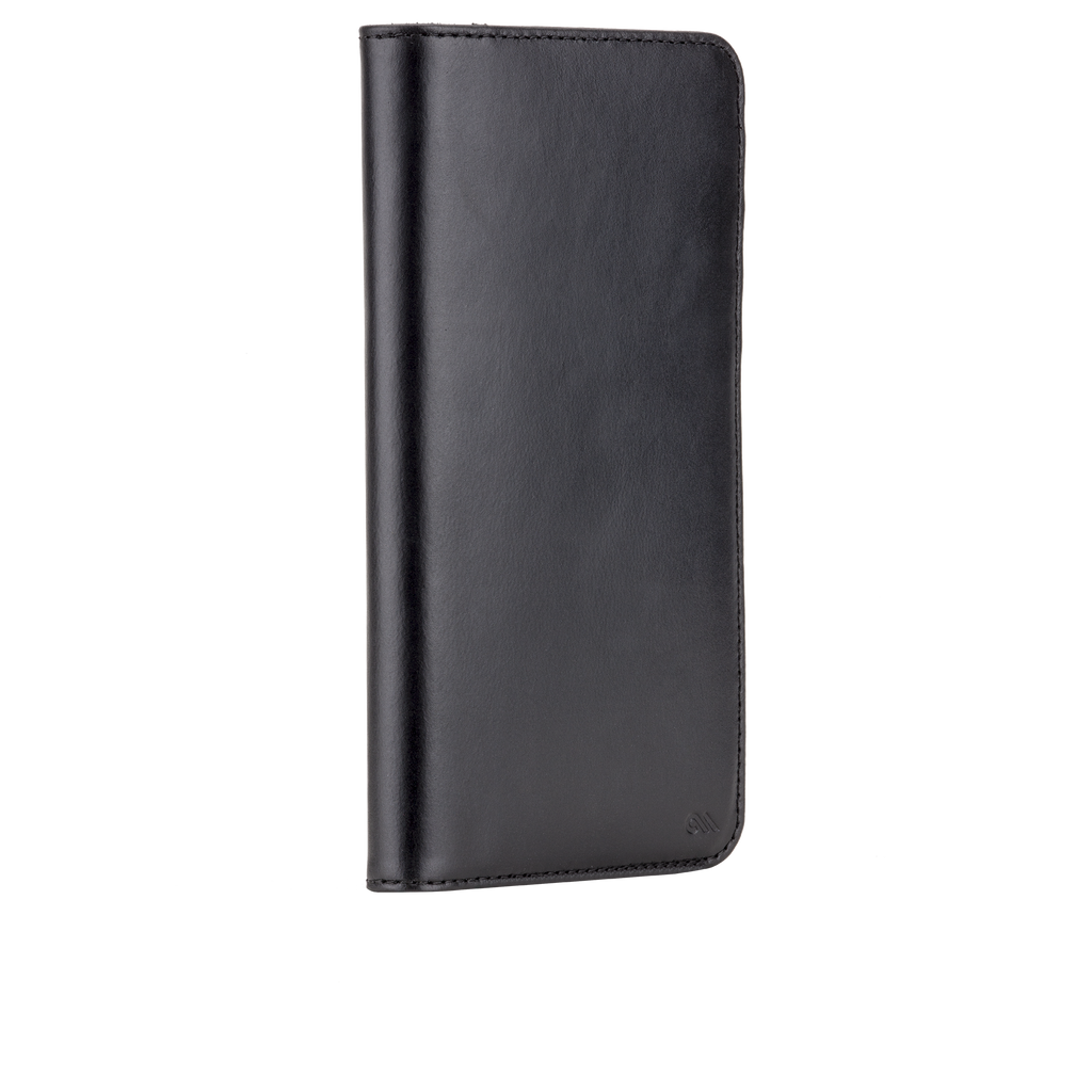 Samsung Galaxy Note 5 Black Wallet Folio Case - image angle 2