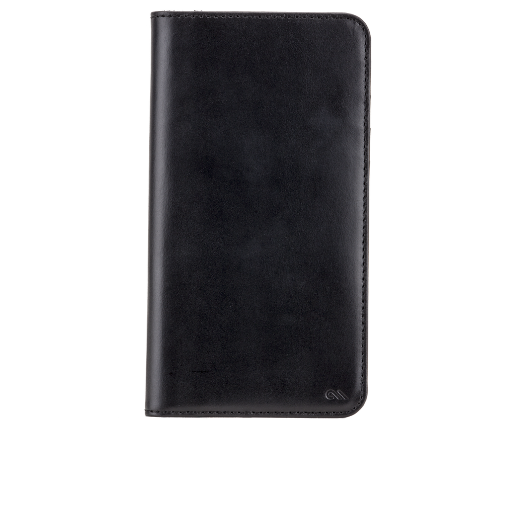 Samsung Galaxy Note 5 Black Wallet Folio Case - image angle 6