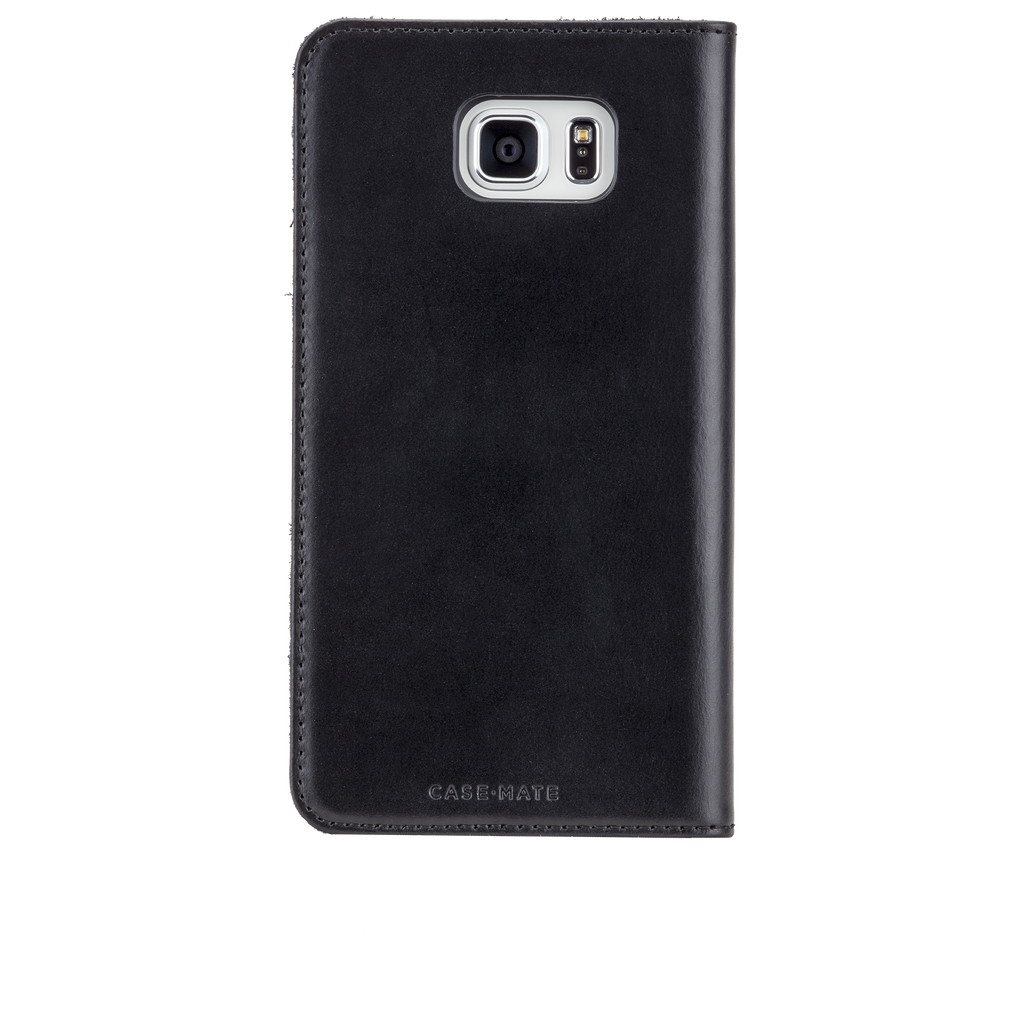 Samsung Galaxy Note 5 Black Wallet Folio Case - image angle 7