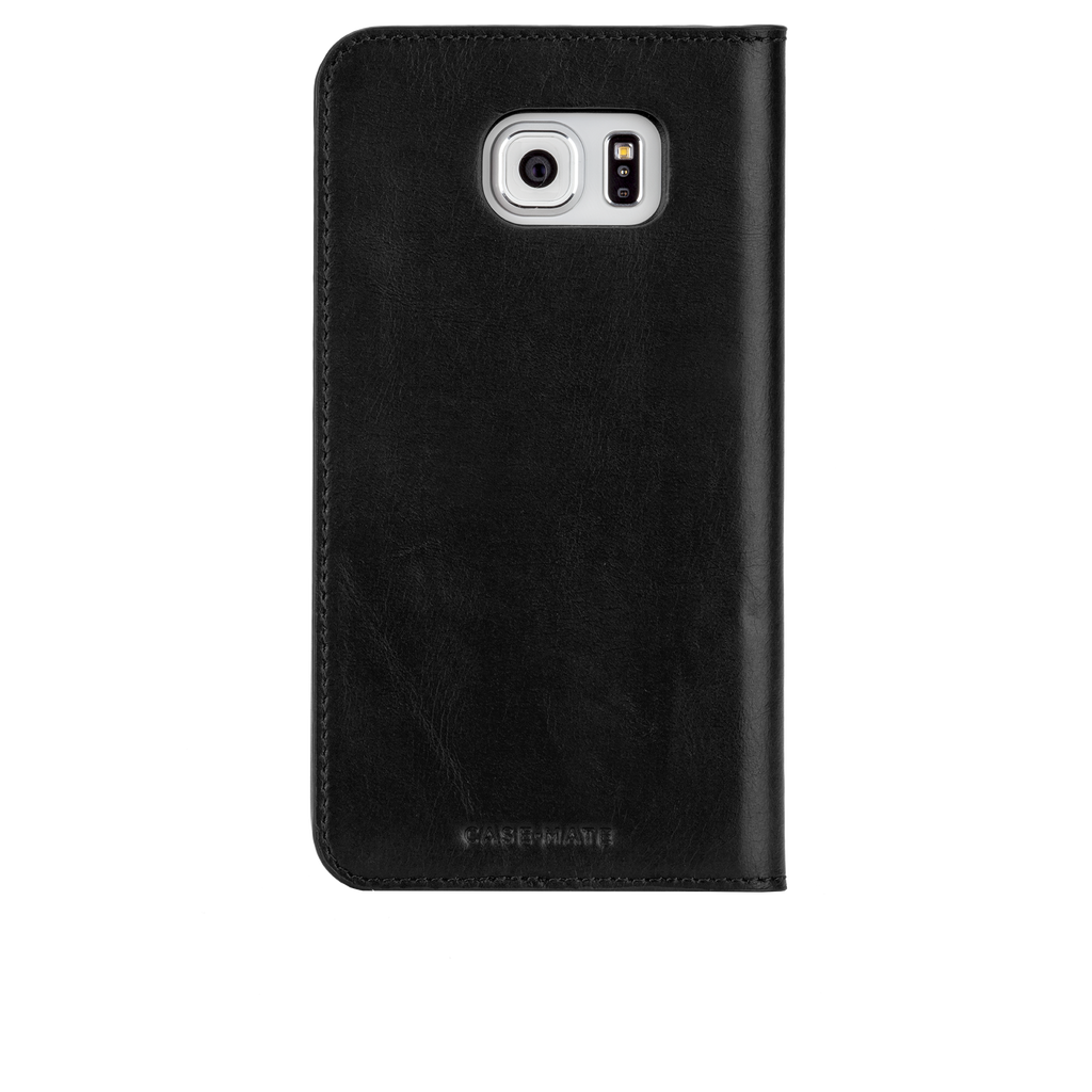 Samsung Galaxy S6 Black Wallet Folio Case - image angle 7