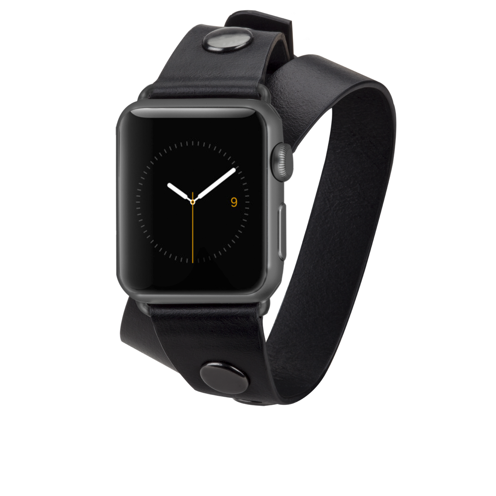 Apple Watch 38mm Black Wrap - image angle 1