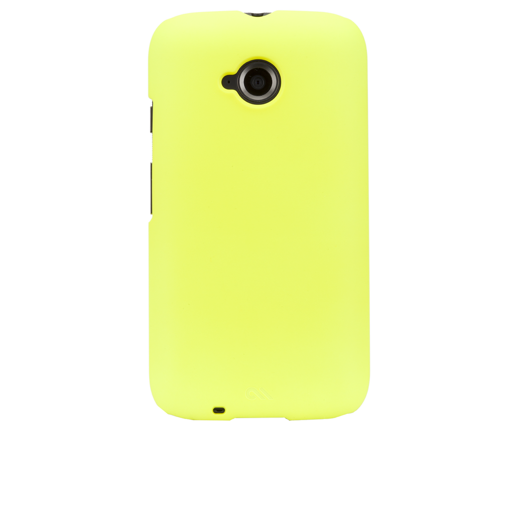 Moto E (2nd Gen.) Clear Barely There Case - image angle 7