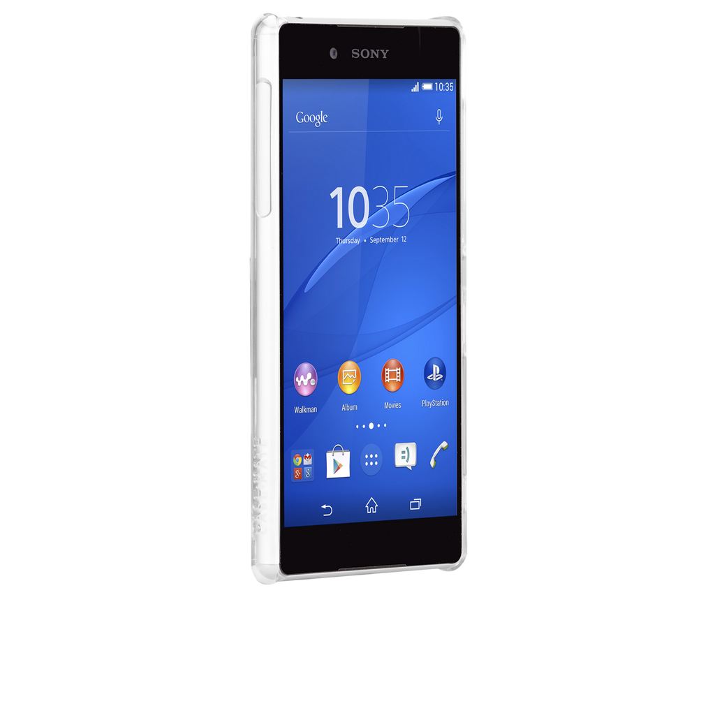 Sony Xperia Z4 Clear Barely There Case - image angle 2
