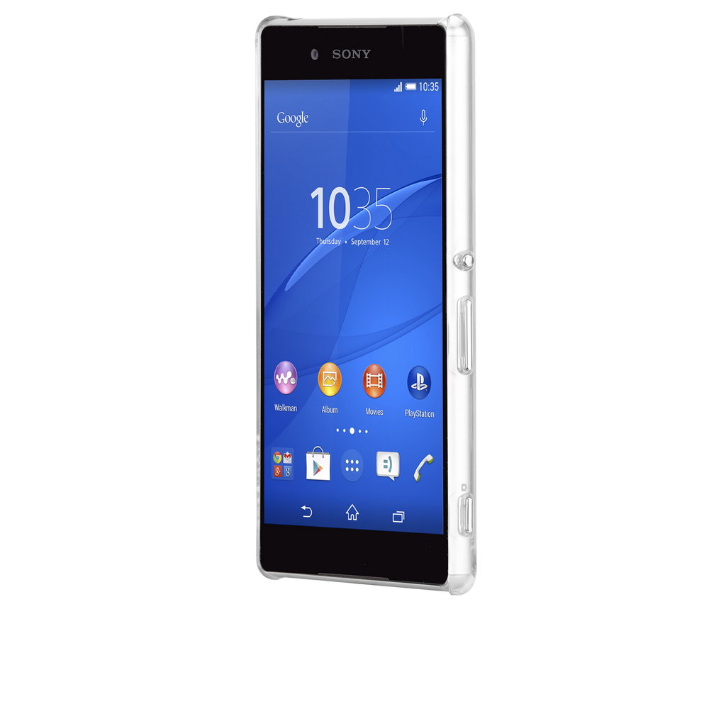 Sony Xperia Z4 Clear Barely There Case - image angle 4