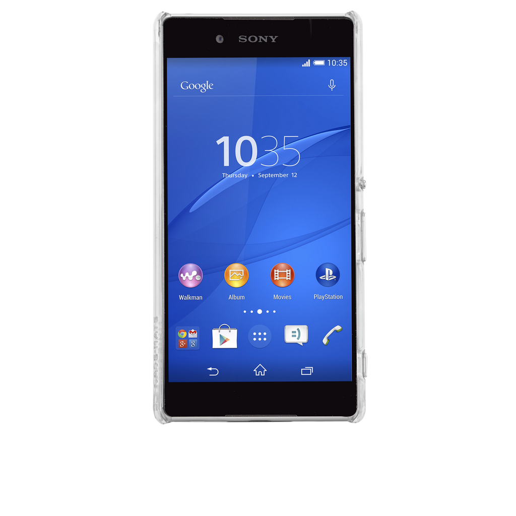 Sony Xperia Z4 Clear Barely There Case - image angle 6