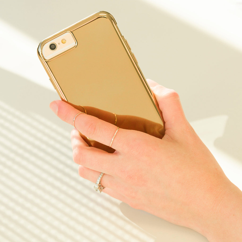 Barely There Case - Gold