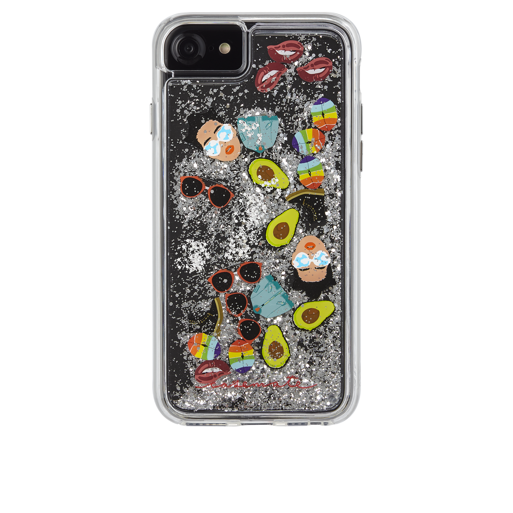 Refinery29 AltMoji Naked Tough Waterfall iPhone 7 Case Back