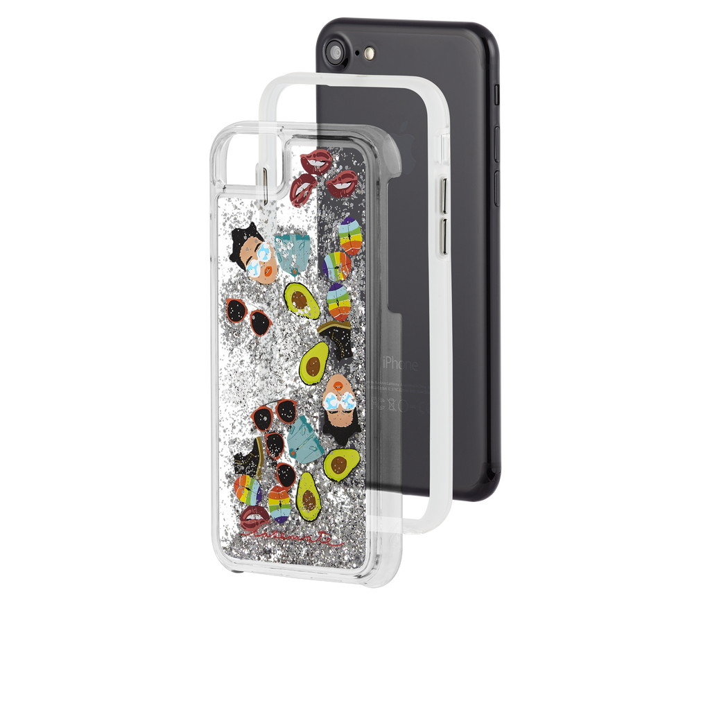 Refinery29 AltMoji Naked Tough Waterfall iPhone 7 Case Layers