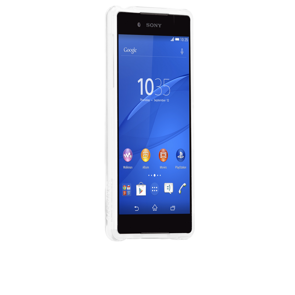Sony Xperia Z4 Clear Naked Tough Case - image angle 2