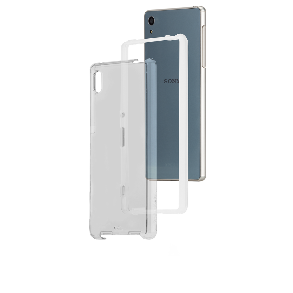 Sony Xperia Z4 Clear Naked Tough Case - image angle 8
