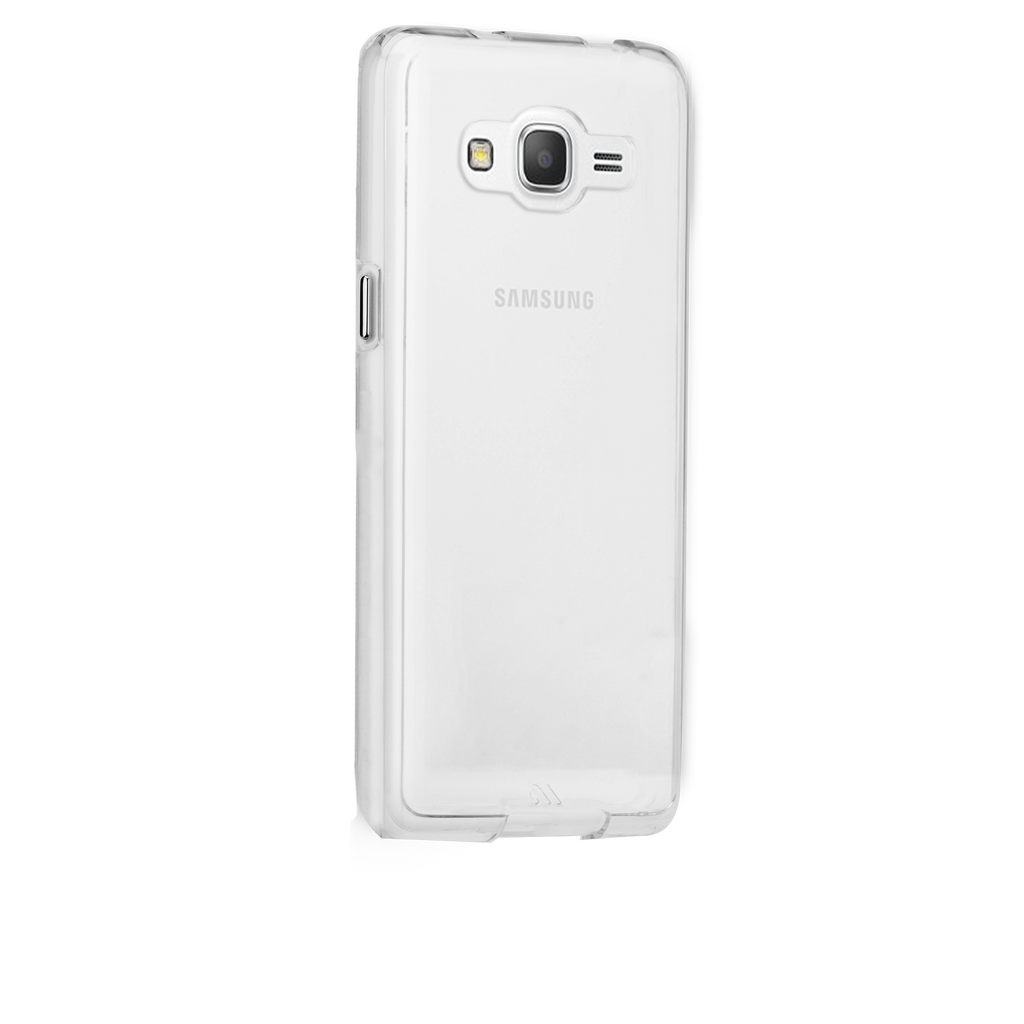 Samsung Galaxy Grand Prime Clear Naked Tough Case - image angle 1