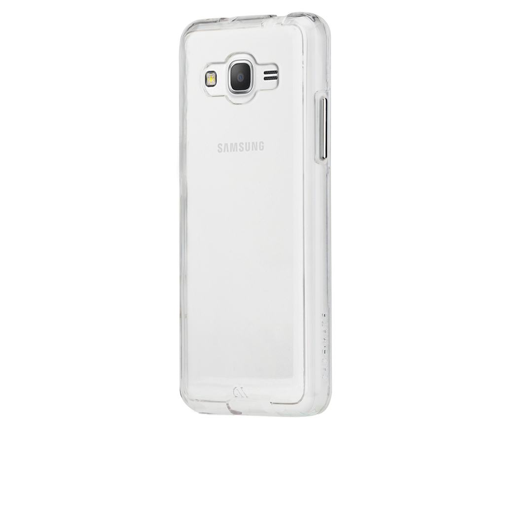 Samsung Galaxy Grand Prime Clear Naked Tough Case - image angle 3