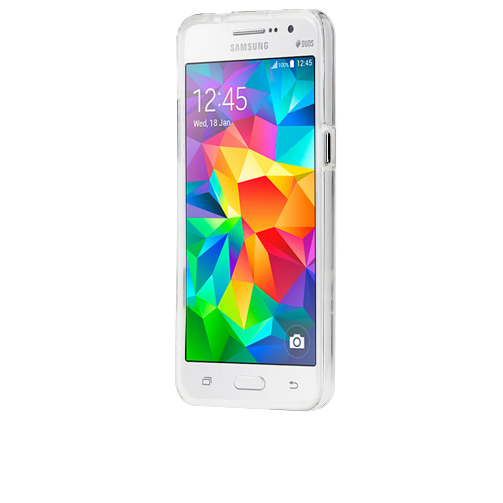 Samsung Galaxy Grand Prime Clear Naked Tough Case - image angle 4