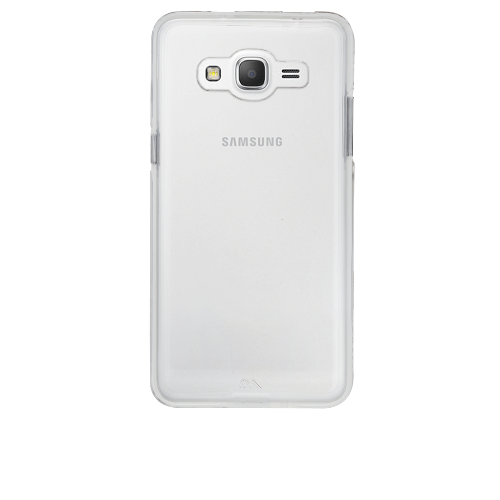 Samsung Galaxy Grand Prime Clear Naked Tough Case - image angle 7