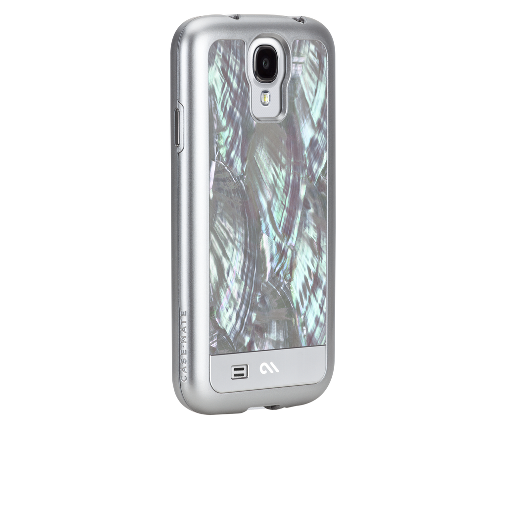 Samsung GALAXY S4 Silver Pearls Case - image angle 1