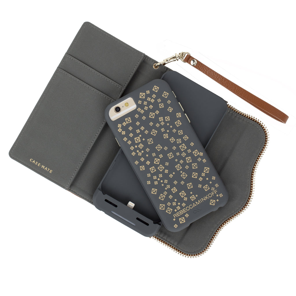 iPhone 6s Almond Charging Wristlet - lifestyle angle 3