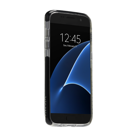 Samsung Galaxy S7 Tough Air Case - Black & Clear