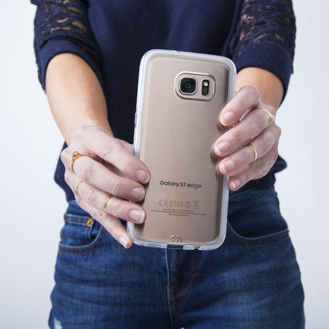 Samsung Galaxy S7 Edge Naked Tough Case - Clear