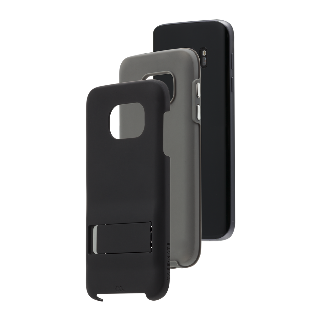 Tough Stand Case - Black & Charcoal