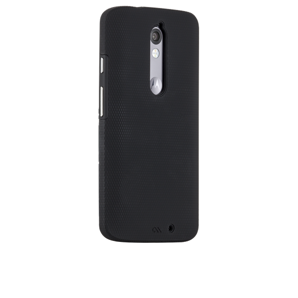 Motorola Droid Turbo Black & Black Tough Case - image angle 1