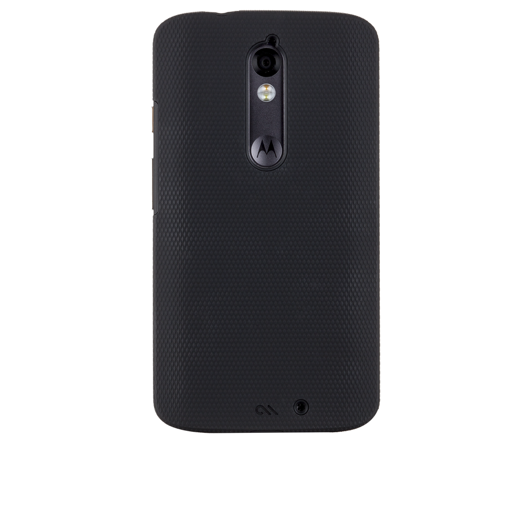 Motorola Droid Turbo Black & Black Tough Case - image angle 7