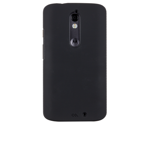 Motorola Droid Turbo 2 Tough Case - Black