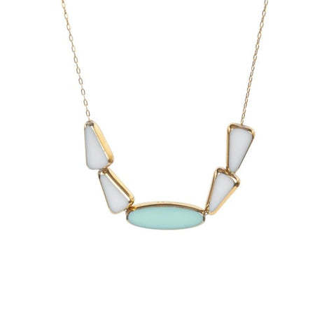 Retro Necklace, Buena Vista Sky - LilahV