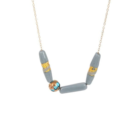 Necklace, Manhattan Beach Aqua - LilahV