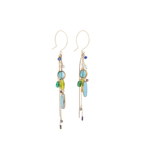 Retro Earrings, Mullholland Drive - LilahV