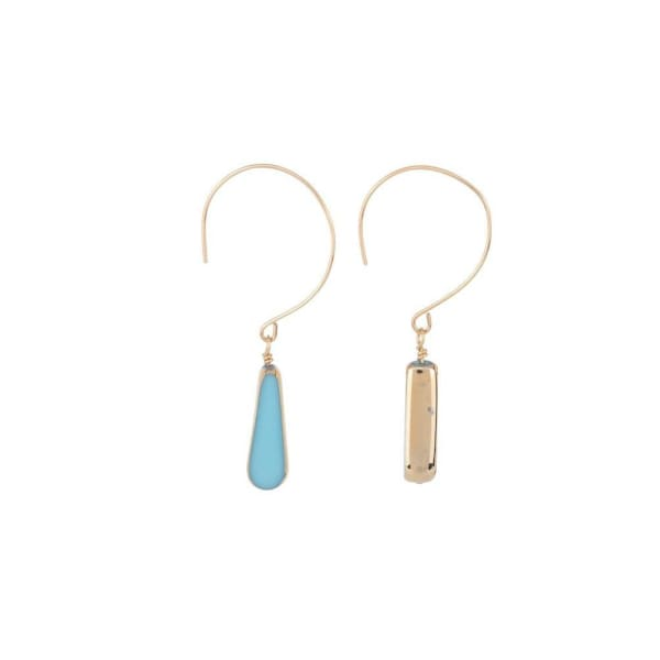 Retro Earrings, Seal Beach Dangles - LilahV