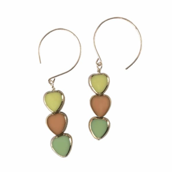 Retro Earrings, Torrey Canyon Dangles - LilahV