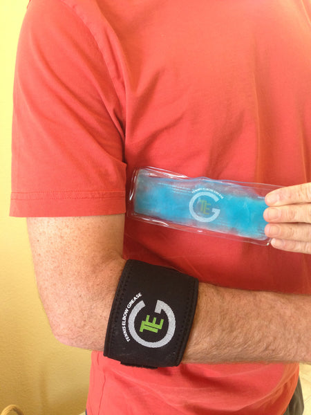 TEG Elbow Brace with Insertable Ice/Heat Pack