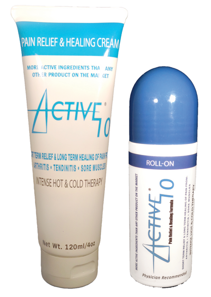 Active 10 Combo Pack ( 1 -- 4oz Tube & 1 -- 3oz Roll-On)