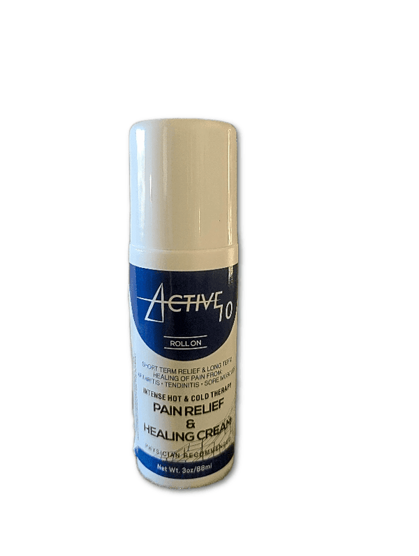 Active 10 Pain Relief and Healing Roll-on (3oz)