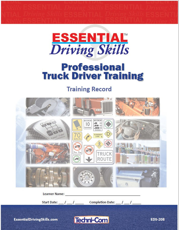 EDS-208 Essential Driving Skills - Training Record