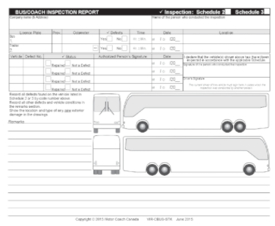 Daily Vehicle Inspection Report - Stock – Techni-Com Inc.