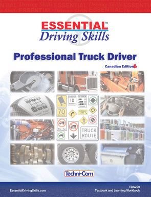 EDS-200 Essential Driving Skills - Professional Truck Driver Textbook