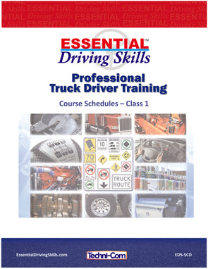 Essential Driving Skills - Course Schedules, Class 1 (EDS-SCD)