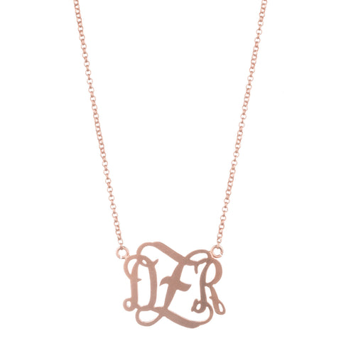 23mm MONOGRAM NECKLACE