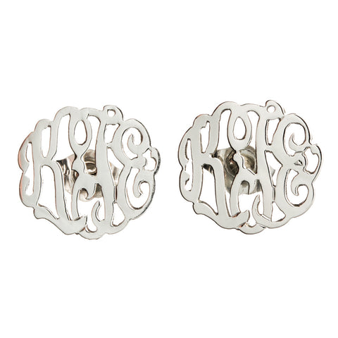 Interlocking Monogram Earring