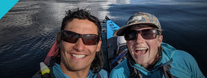 TRAK Dispatches: Ted and Glo's Paddle to Alaska