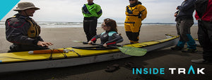 "Testing the ""Ultimate Touring Kayak"" at the TRAK Pacific Rim Surf Camp - May 2017"