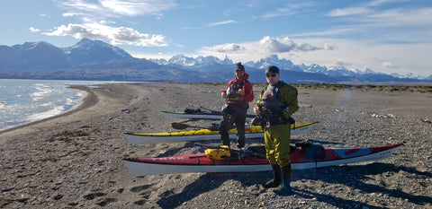(Day 2 - Departing the Andes, Mt.Fitzroy and Cerro Torre behind us!)