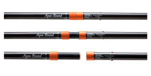 Aqua-Bound Tango Fiberglass 4 Pc - Carbon Shaft