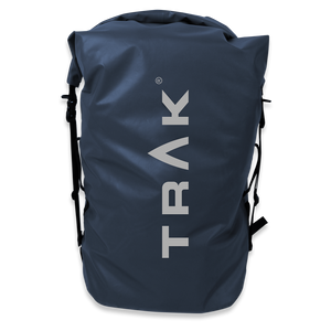 TRAK 60L Drybag for Back Deck and Airline Carry-On Backpack