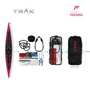 TRAK 2.0 Kayak — the All-New FUCHSIA