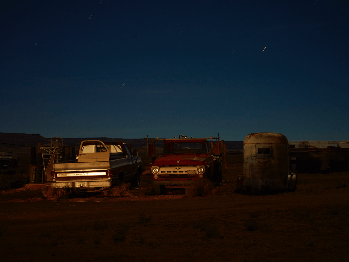 Arizona nighttime - One - David Loftus Print Shop