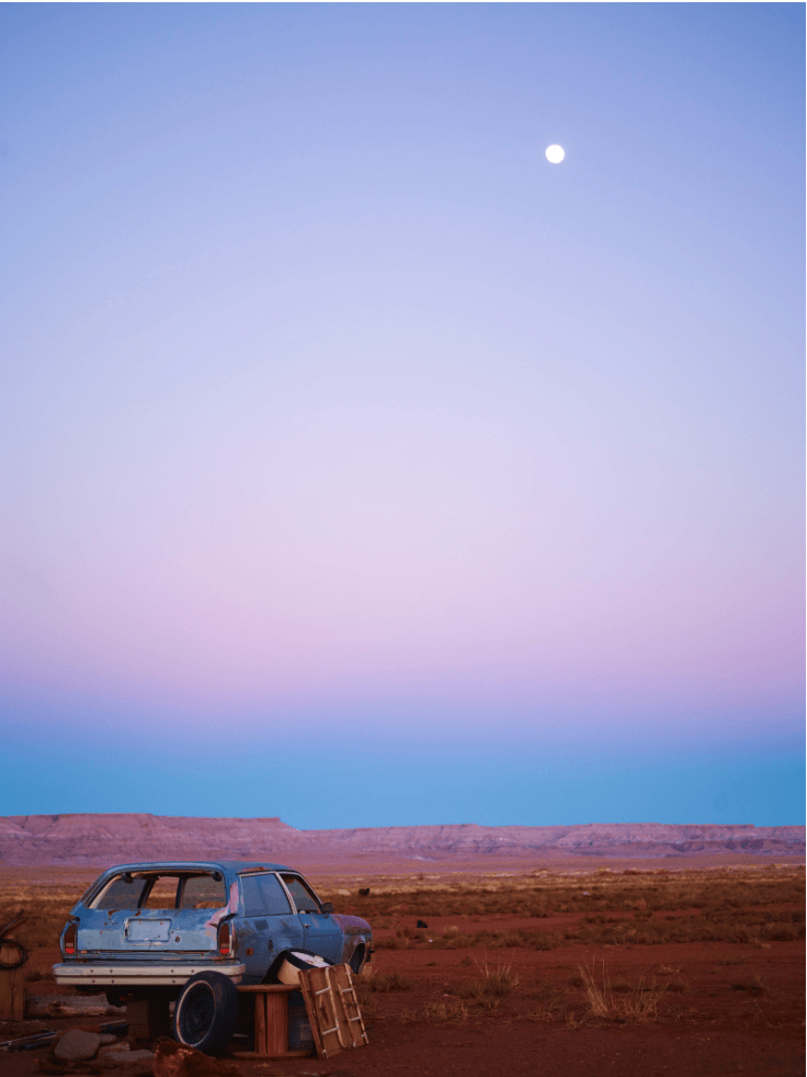 Arizona Moonrise - David Loftus Print Shop
