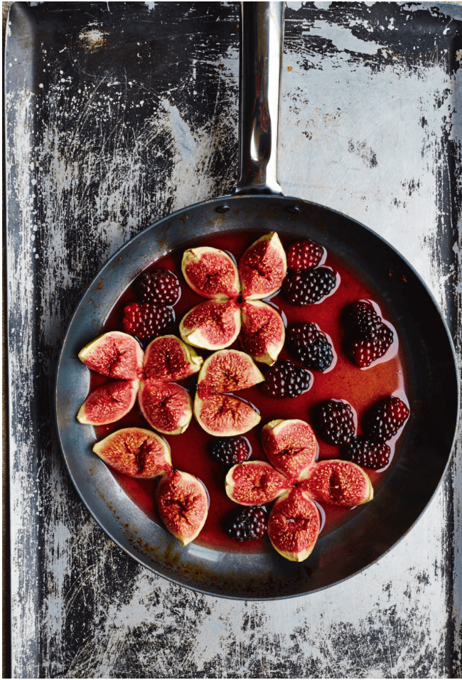 Figs and blackberries - David Loftus Print Shop